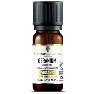 COSMOS Organic Geranium Bourbon Essential Oil 10ml
