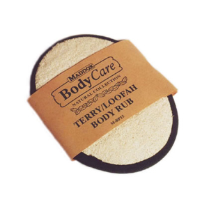 Terry/Loofah Body Rub Palm Pad