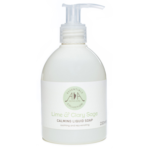 Lime & Clary Sage Calming Liquid Soap 250mls - AA Skincare Single