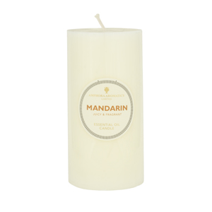 Mandarin Candle 6 x 3 (Single)