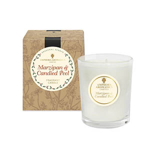 Marzipan & Candied Peel Mini Pot Candles NEW Single