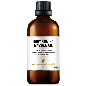 Body Firming Massage Oil 100ml - Glass