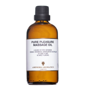 Pure Pleasure Massage Oil 100ml - Glass