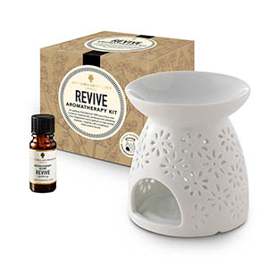 Revive Aromatherapy Kit - with Style 3 traditional burner.