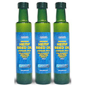 Organic Hemp Seed Oil (500ml)