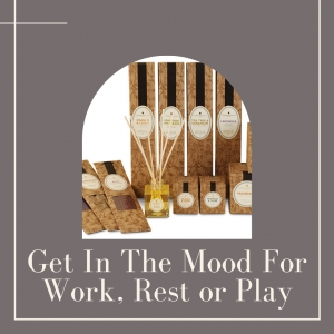 Get In The Mood For Work, Rest or Play with Amphora Aromatics' Home Aromas Range.