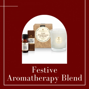 'Festive' Aromatherapy Blend joins Amphora Aromatics' Home Aroma range this Christmas.