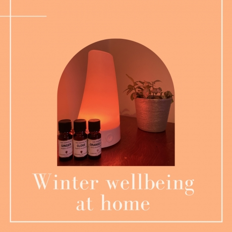 Winter wellbeing at home with Amphora Aromatics